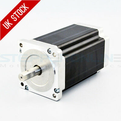 Nema 34 Stepper Motor 13Nm 5A 4-wires 14mm Shaft DIY CNC Mill Laser Lathe Router