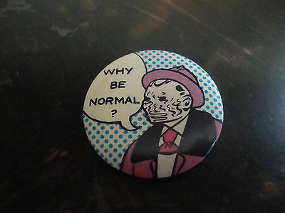 Button---Why Be Normal---1984