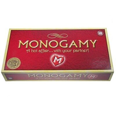 Monogamy Game for Couples, Red, One Size