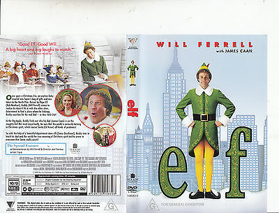 Elf-2003-Will Ferrell-Movie-DVD