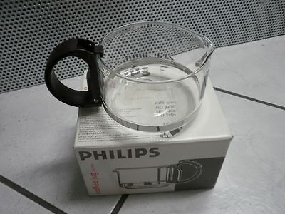 Original Philips HD 7946 Kaffeekanne / Kaffeebecher aus Glas 4822 418 10333