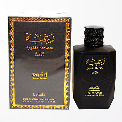 Raghba (100ml) Eau De Perfume For man by Lattafa Traditional