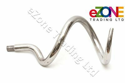 FIMA Pizza Dough Mixer Spiral Hook Stainless Steel for S27 Made in ITALY
