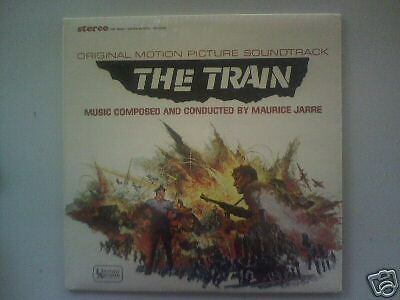 The Train - 1965 -Maurice Jarre-Original Soundtrack LP