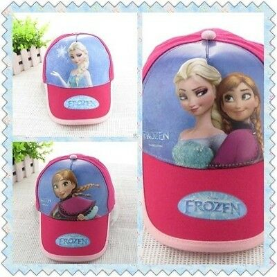 17725d50bcb NEW Disney Frozen Princess Rose ELSA ANNA Girls Kids Adjustable Baseball Cap  Hat