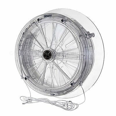 Simon Vent A Matic Rotary Fan DGS 106 with Stormguard For Double Glazed Windows