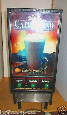 Powder Cappuccino Machine Bunn  Fmd 3  Running In Great Condition 3 Free Case