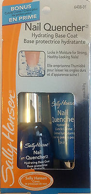 Sally Hansen Nail Quencher Hydrating Base Coat + Hydrating Cuticle Creme 6408-01