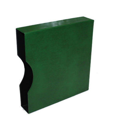"Seven Seas 32mm Slipcase for Seven Seas ""D"" Ring Binder - Green"