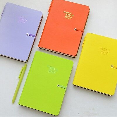"""""""Color Magic"""" 1pc Planner Agenda Scheduler Lined Paper Diary Notebook Hard Cover"""