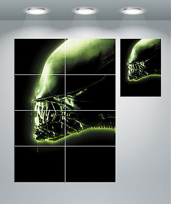 Alien Vintage Movie Giant Wall Art Poster Print