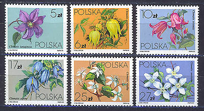 POLONIA/POLAND 1984 MNH SC.2610/2615 Local Flowers