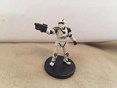 Star Wars Miniatures Force Unleashed #38/60 Raxus Prime Trooper - NC