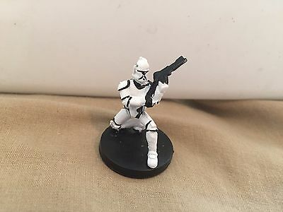 Star Wars Miniatures Clone Wars #2/6 Republic 9 Clone Trooper - NC