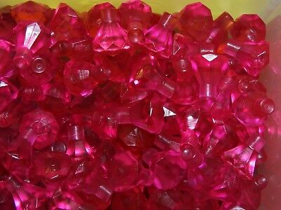 NEW Genuine LEGO Lot of 25 Transparent GREEN Crystal Jewel Gem Treasure Rock
