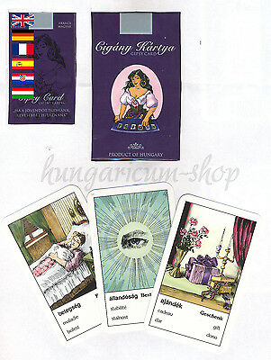 SEALED DECK of 36 GYPSY TAROT cards on 6 LANGUAGES #001