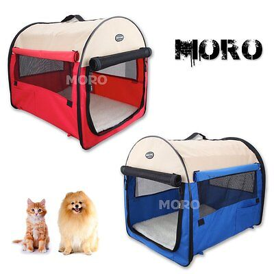 M-XL Portable Soft Pet Dog Crate Travel Carrier Cage Kennel Tent House Handheld