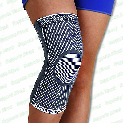Medical Compression Elastic Knee Support Sleeve Brace Patella Injury Arthritis
