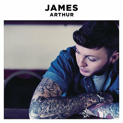 JAMES ARTHUR James Arthur 13-trk CD NEW/UNPLAYED X Factor Emeli Sande s/t