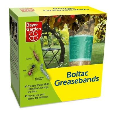 New Pack Bayer Boltac Grease Bands Fruit Tree Protection from Insects