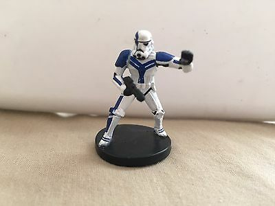 Star Wars Miniatures Force Unleashed #35/60 Felucian Stormtrooper Officer - NC