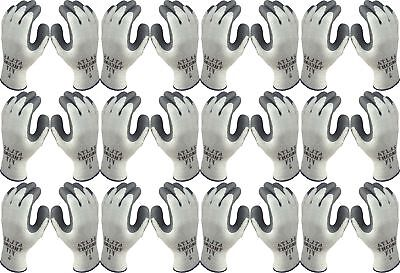 Atlas 451 Therma-Fit Cold Weather Insulated Rubber X-Large Work Gloves, 12-Pairs