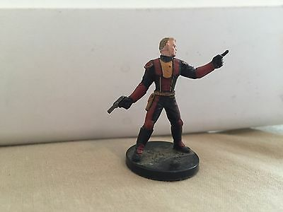 Star Wars Miniatures Champions of the Force #5/60 Old Republic Commander - NC