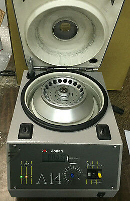 Jouan A14 Centrifuge with Rotor