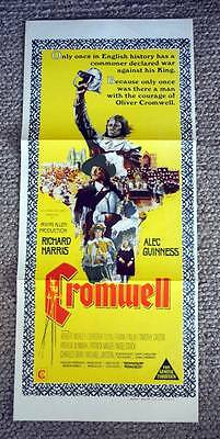 Cromwell 1970 Daybill Movie Poster Richard Harris Alec Guinness