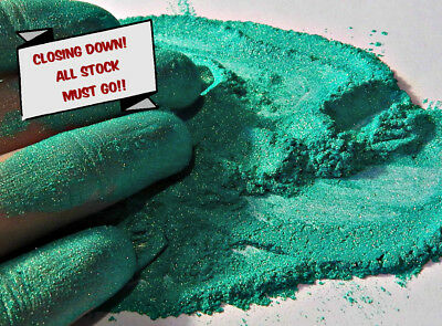 Pearlescent Mineral Mica Powder Pigment 10g - Green CLOSING DOWN