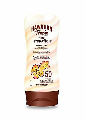 HAWAIIAN TROPIC Silk Hydration Sonnenschutzlotion LSF 50 very high! (180 ml) NEU