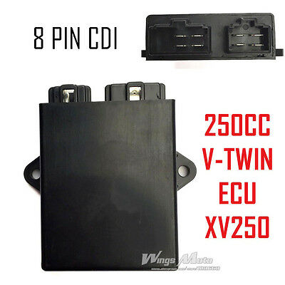 2UJ ECU CDI for Yamaha XV250 Virago Lifan Keeway 250 V-twin Rhino Hunter Chopper