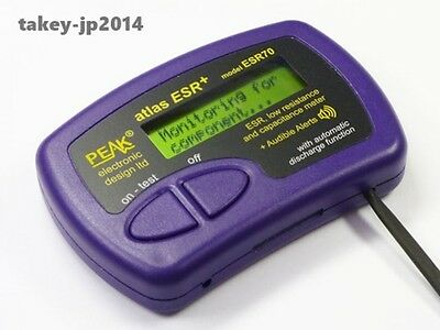 Peak ESR70 Atlas ESR PLUS Capacitor Analyser with audible alerts Japan F/S