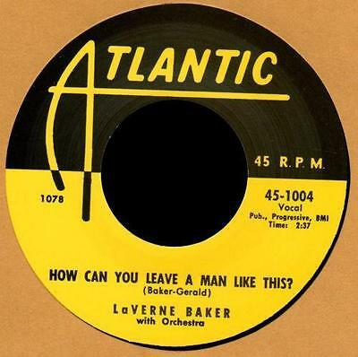 "LAVERNE BAKER - Soul On Fire + How Can You Leave A Man Like This "" R&B Repro"