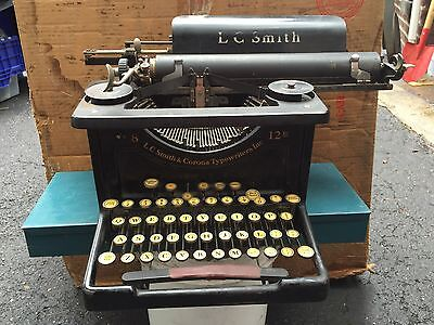 Vintage-Antique L.C. Smith Corona Model 8  12 Typewriter