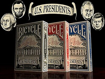 Bicycle U.S. Presidents Playing Cards - Set of 3
