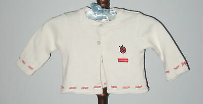 ROMEO & JULIETTE Girls Size 12-18 Months Cardigan Sweater (Made in Canada)
