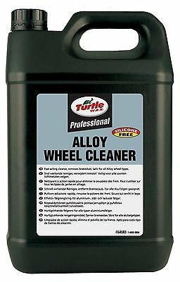 Turtle WAX Professional Quality Alloy Wheel Cleaner 5L Silicone Free Anti Dust