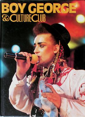 Boy George & Culture Club * Vintage 1984 Hardback Annual * Htf!