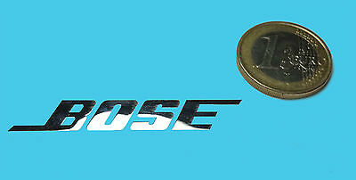 BOSE METALISSED CHROME EFFECT STICKER LOGO AUFKLEBER 50x8mm [29]