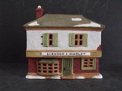 """Dept 56 Dicken's Village """"scrooge And Marley Counting House""""- #65005- New In Box"""
