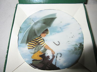 """Zolan's Miniature Plate """"Touching the Sky"""" 1987 4th Best of ZOLAN   #2403A   MIB"""