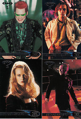 Batman Forever:1995-Movie- Fleer Ultra-Lot 2.4 Cards