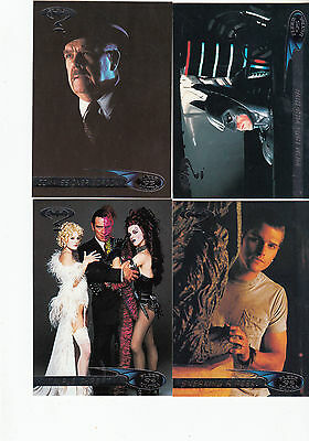 Batman Forever:1995-Movie- Fleer Ultra-Lot 3.4 Cards