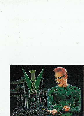 Batman Forever:1995-Movie- Fleer Ultra-Lot 12-1 Chromium  Card [8 of 10]- Cards
