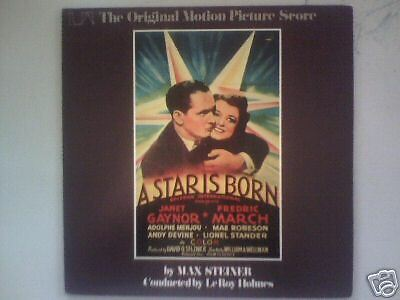 A Star Is Born - 1937 -Original Movie Soundtrack-Record LP