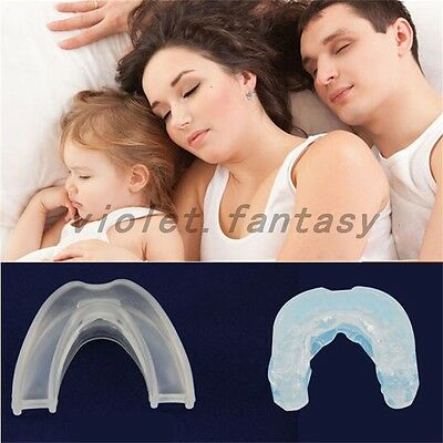 Stop Snoring Anti Snore Mouthpiece Apnea Guard Bruxism Tray Quality Sleeping Aid