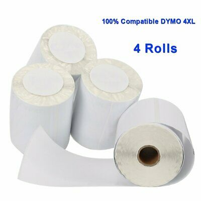 4 Rolls Thermal Shipping Labels  #1744907 4x6 Compatible DYMO 4XL For USPS eBay