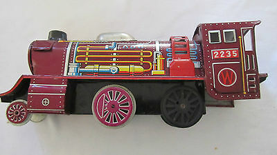 Vintage Tin Plate Train in Excellent Condition
