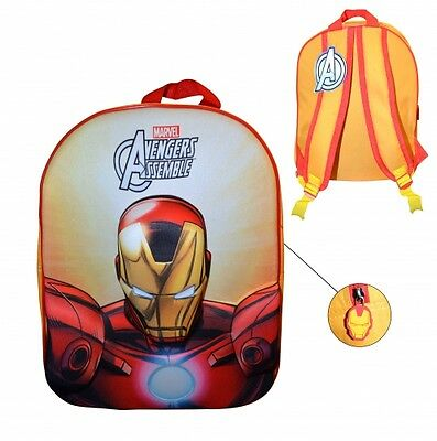 Marvel Avengers Assenble 'Iron Man' 3D Eva School Bag Rucksack Backpack Gift
